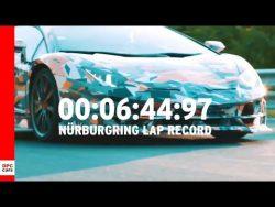 Lamborghini Aventador SVJ Nurburgring Lap Record – YouTube