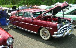 1952 Hudson Hornet 4-door sedan.  (Owned by Wayne Tuck)
