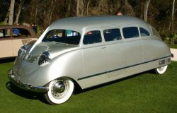 1936 model car Stout Scarab – first ever  Minivan