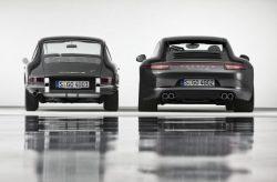 Porsche 911 1963 v 2013
