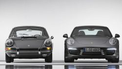 Porsche 911 celebrates its 50th anniversary  1963 versus 2013