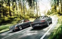 The Porsche 911 – 50th anniversary edition  1963 v 2013