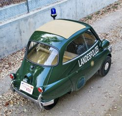 1957 BMW Isetta 300 Police car