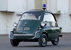1957 BMW Isetta 300 Police Car