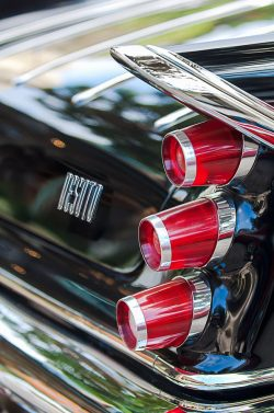 1959 Desoto Adventurer Hardtop Coupe 2-door Taillight Emblem Photograph by Jill Reger