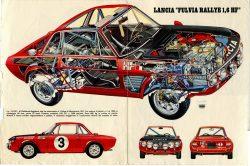 Lancia Fulvia Rallye 1.6 HF.