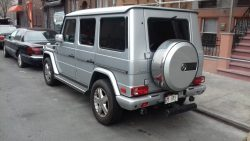 2015 Mercedes G-Wagon.
