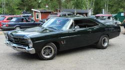 American Muscle Cars… 1968 Ford Galaxie 500 Fastback