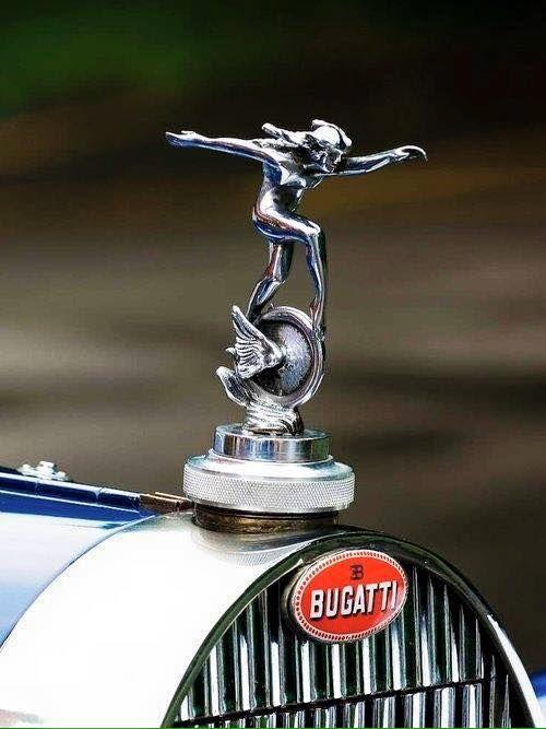 Bugatti hood ornament