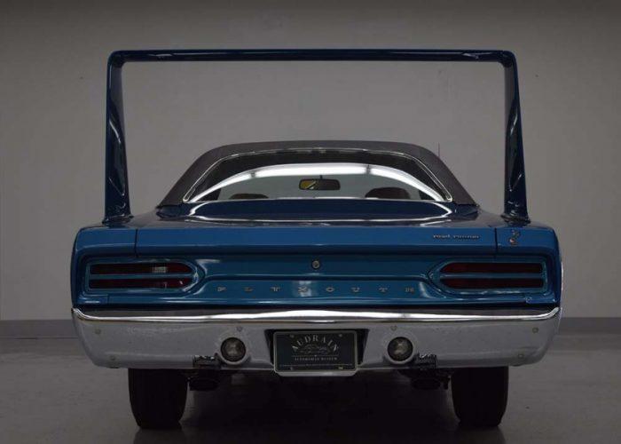 1970 Plymouth Superbird   Auto Museum Exhibit   Newport RI
