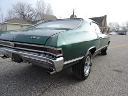 Used 1968 Chevrolet Chevelle SS for Sale in Greene IA 50636 Coyote Classics