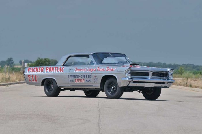 1963 Pontiac fetched $530,000 at auction