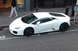 2018 Lamborghini Huracan.
