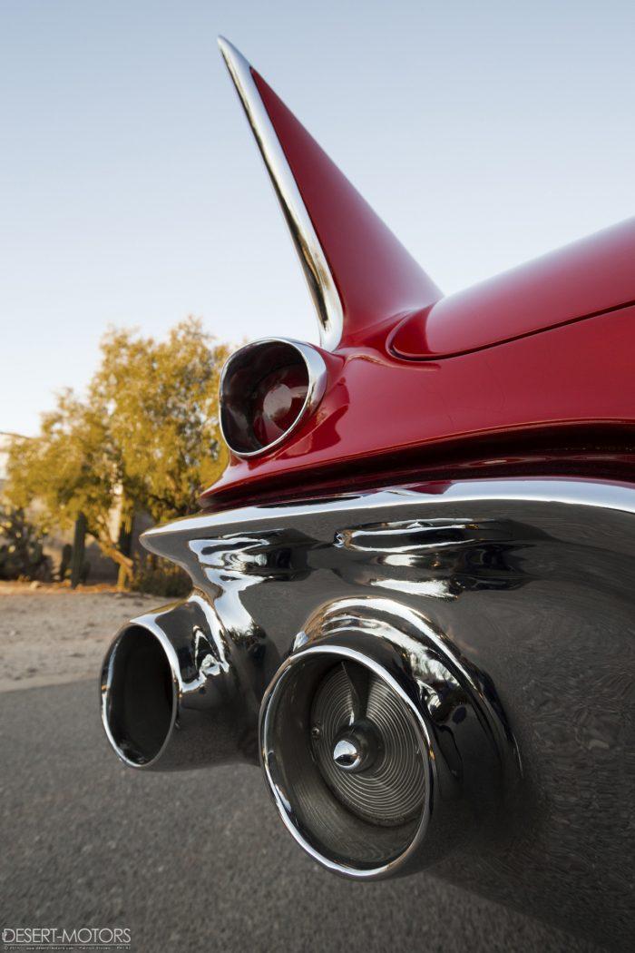 '57 Cadillac Eldorado Biarritz – photo by Patrick Ernzen – www.desert-motors.com