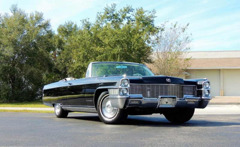 1965 Cadillac Eldorado Convertible – Hollywood Wheels Auction Shows