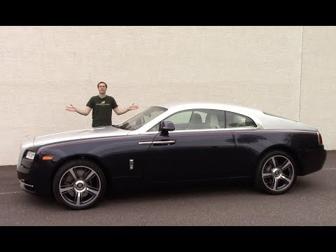 Here's a Tour of a $350,000 Rolls-Royce Wraith – YouTube