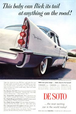 Original DeSoto Print Advertisements | Carsandstripes.com