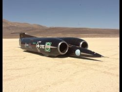 Thrust SSC – still the only car to travel faster than the speed of sound – YouTube & ...