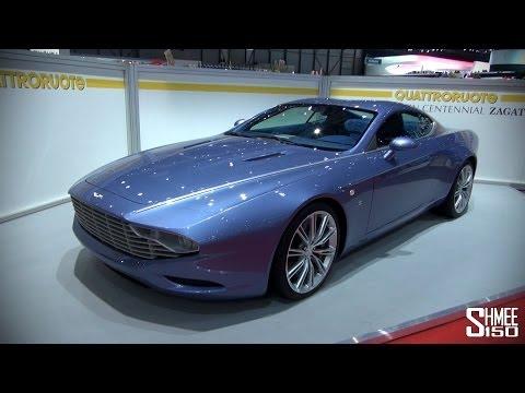 Aston Martin Centennial Zagato at Geneva 2014 – YouTube