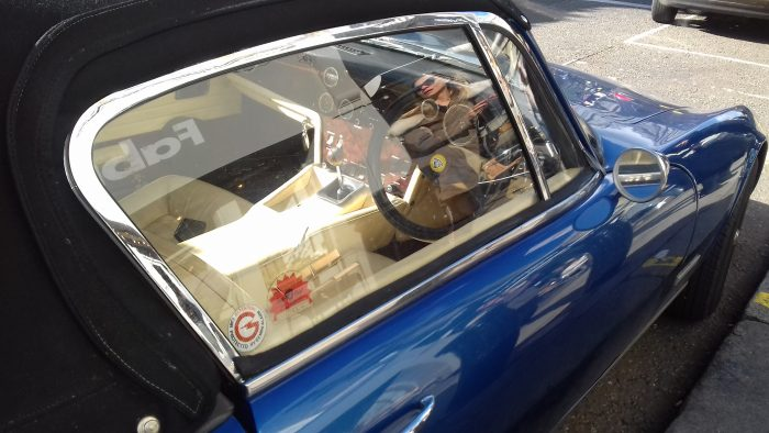 1973 Lotus Elan 2+2 (cockpit)