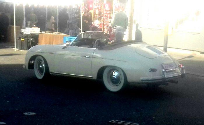 50s/60s Porsche 365 Roadster (possibly a replica)