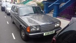 1984 Mercedes 280TE. Mine was the diesel version. This beauty has the wonderful, 2.8 litre strai ...