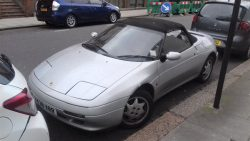 A well-used, 1990 Lotus Elan SE