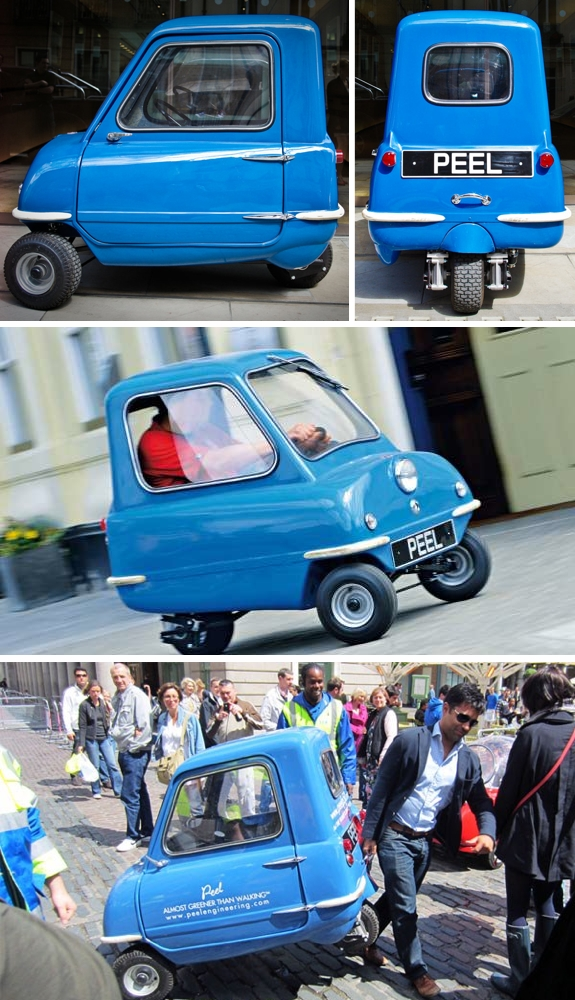 Peel-P50 The Worlds Smallest Street Legal Production Car