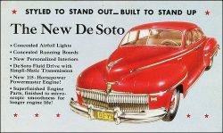 """The """"New""""….er, 1942 De Soto"""