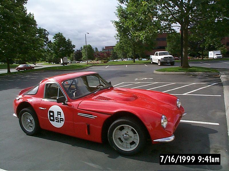 1966 TVR Griffith 400.