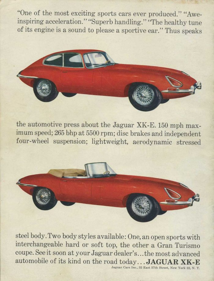 1961 – 1967 Jaguar E-Type Series 1 (3.8L and 4.2L) | classicregister