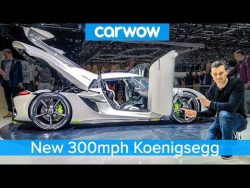 300mph Koenigsegg Jesko – see someone BUY this £2.3M car live at Geneva! – YouTube