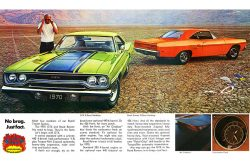 1970 Plymouth Roadrunner brochure