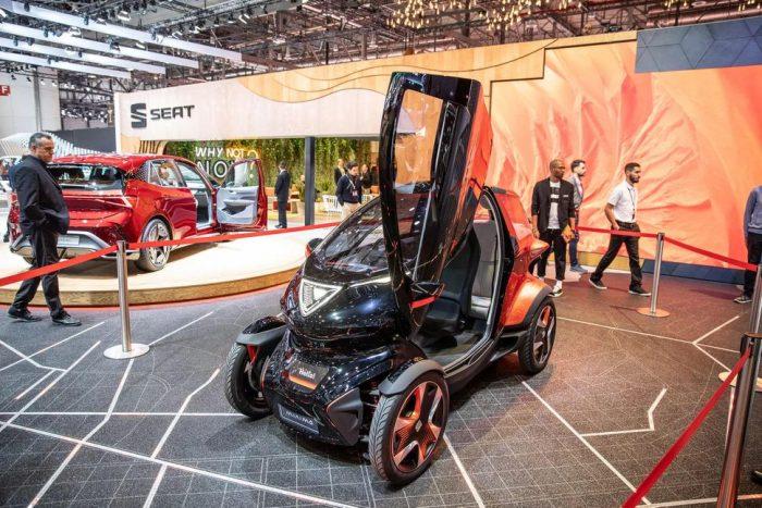 2019 Geneva Motor show Seat-minimo-concept-  All electric