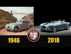 BRISTOL CARS EVOLUTION | From 1946 – 2018 – YouTube
