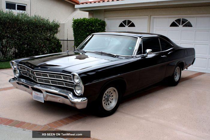1967 Ford Galaxie Black