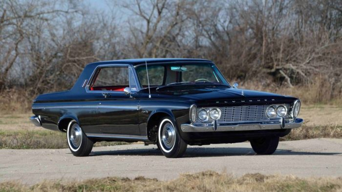 1963 Plymouth Sport Fury Max Wedge