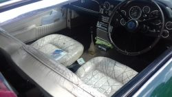 Lovely, honest, wear and tear to this Aston's interior
