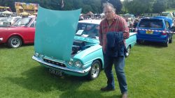 Richard, again, with a 1962 Ford Consul Capri