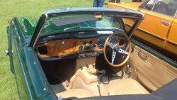 1964 Triumph TR4 (interior)