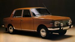 Wartburg 353- the cream of East German cold war design!