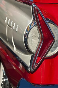 Taillight Photograph – 1958 Edsel Wagon Tail Light by Jill Reger