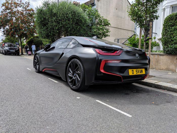 2016 BMW i8.  Electric Hybrid