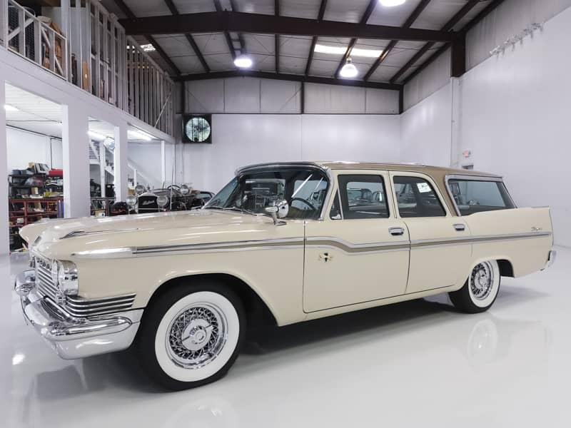 1959 CHRYSLER WINDSOR TOWN & COUNTRY WAGON – Daniel Schmitt & Co. Classic Car Gallery