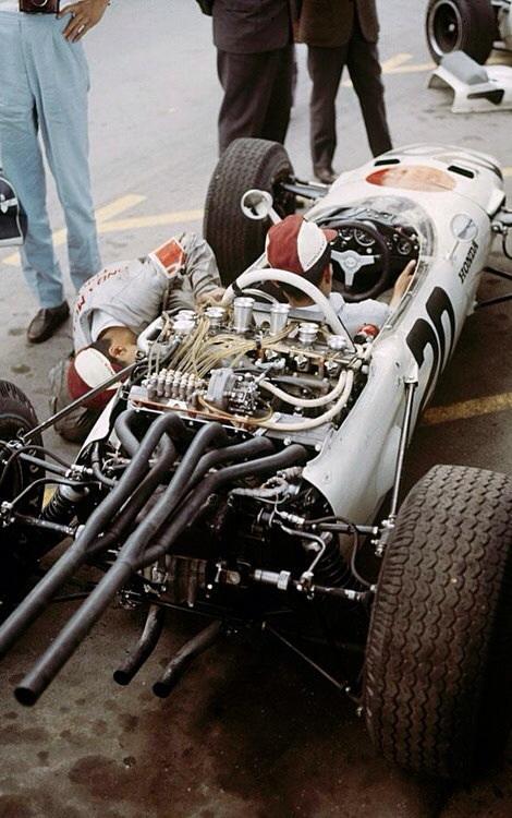 Ginther RA272 Monaco 1965