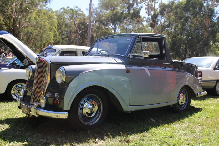 Triumph mayflower pickup – circa 1950