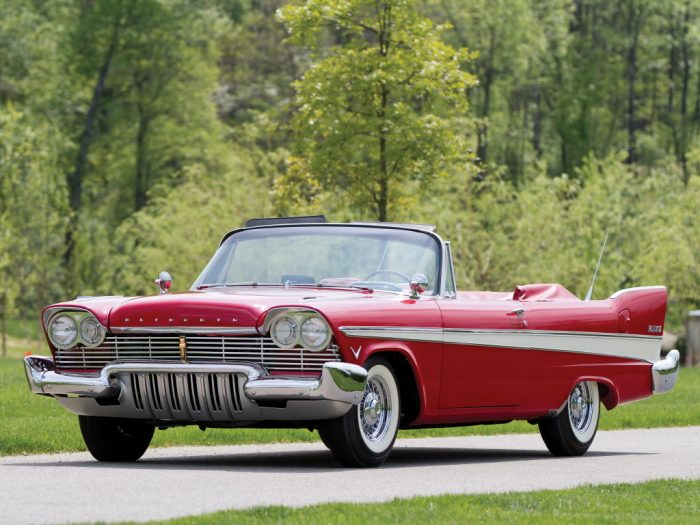 1957 Plymouth Belvedere Convertible (P31-3) '1956–57