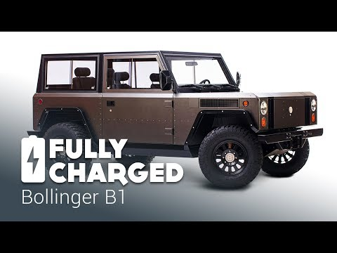 Bollinger B1 100% electric sport utility truck | Fully Charged – YouTube