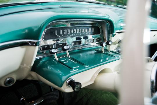 1954 Mercury Monterey dashboard