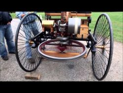 Driving  1886  Mercedes Benz …Turning Over – YouTube